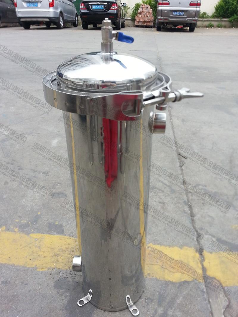 卡箍式 4號袋 單袋式過濾器